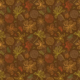 Seamless pattern floral background Stock Images
