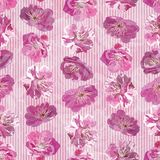 Seamless pattern with floral background Royalty Free Stock Images