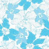 Seamless Pattern With Floral Background . Stock Photos
