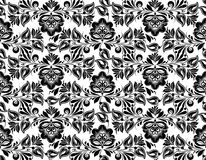 Seamless pattern with floral background Royalty Free Stock Photography