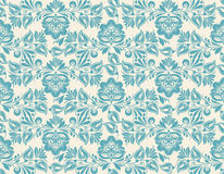 Seamless pattern with floral background Royalty Free Stock Photos
