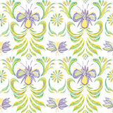 Seamless pattern with floral background. Vector floral pattern. Stock Images