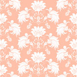 Seamless pattern floral bouquet in vase Stock Photo