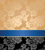 Seamless pattern, floral, decorative background Stock Image