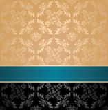 Seamless pattern, floral decorative  Stock Images