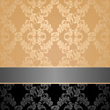 Seamless pattern, floral decorative background Stock Images