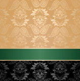 Seamless pattern, floral decorative background Royalty Free Stock Image