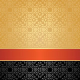 Seamless pattern, floral decorative background Royalty Free Stock Photography