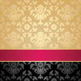 Seamless pattern, floral decorative background Royalty Free Stock Photo