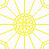 Seamless pattern with floral design Stock Photos