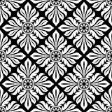 Seamless pattern with floral elements. Stock Photos