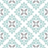 Seamless pattern with floral elements. Stock Photo