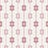 Seamless pattern with floral elements. Royalty Free Stock Photo