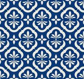 Seamless pattern with floral elements. Vector illustration Royalty Free Stock Image