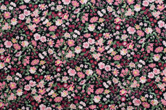 Seamless pattern, floral fabric background. Royalty Free Stock Photos