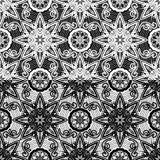 Seamless pattern - floral lace ornament royalty free illustration