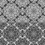 Seamless pattern - floral lace ornament Royalty Free Stock Photography