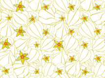 Seamless pattern with floral motif Royalty Free Stock Images