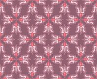 Seamless pattern with floral motives Royalty Free Stock Photo