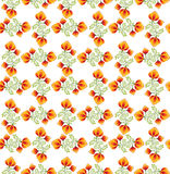 Seamless pattern with floral ornamen Stock Image