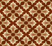 Seamless pattern with floral ornamen Stock Photos