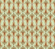 Seamless pattern with floral ornamen Royalty Free Stock Photo