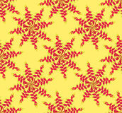 Seamless pattern with floral ornament Royalty Free Stock Photo