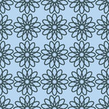 Seamless pattern with floral ornament. Stock Images