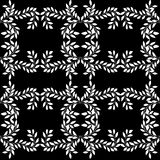 Seamless pattern with floral ornament Stock Image