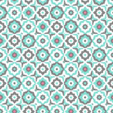 Seamless pattern with floral ornate.Endless texture. Royalty Free Stock Image