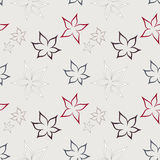 Seamless pattern. Floral pattern with seamless sample in swatch panel Royalty Free Stock Photography