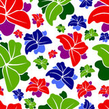Seamless pattern. Seamless floral pattern, simple element design royalty free illustration