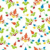 Seamless pattern. floral stylish background Stock Photography