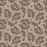 Seamless pattern. Floral stylish background. Vector repeating te royalty free stock photo