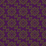 Seamless pattern. Floral stylish background. Vector repeating te royalty free stock photography