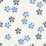 Seamless Pattern. flower. Background Design Stock Photography