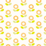 Seamless Pattern. flower. Background Design Stock Images