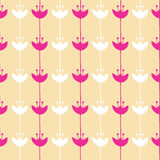 Seamless pattern of flower background Stock Image