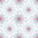 Seamless pattern with flower chrysanthemum Stock Photography