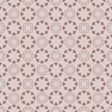 Seamless pattern with flower element. Brown and beige abstract wallpaper. Vector illustration Royalty Free Stock Photo