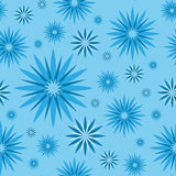 Seamless pattern with flower like star, endless pattern Royalty Free Stock Photos