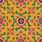 Seamless pattern Flower in traditional Thai Royalty Free Stock Image
