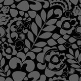Seamless pattern with flower. various flower and leaves.  Stock Photography