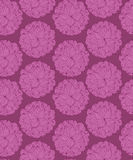 Seamless pattern with flowers Stock Images