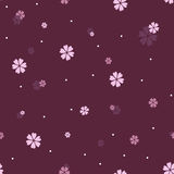 Seamless  pattern with flowers. Stock Photo