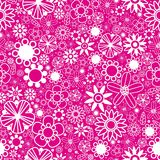 Seamless pattern flowers Royalty Free Stock Images