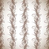 Seamless pattern. Flowers background. Repeating Royalty Free Stock Image