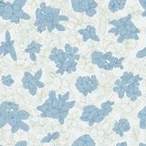 Seamless pattern with flowers on background. Wallpaper with flower texture. Green and blue on white background. Seamless pattern with flowers on background. Book Royalty Free Stock Image