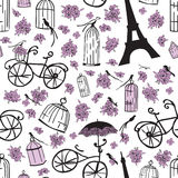 Seamless pattern with flowers Stock Photography