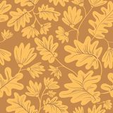 Seamless pattern with flowers and leaves. Floral background with. Spring or summer blossom. Seasonal vector illustration stock illustration